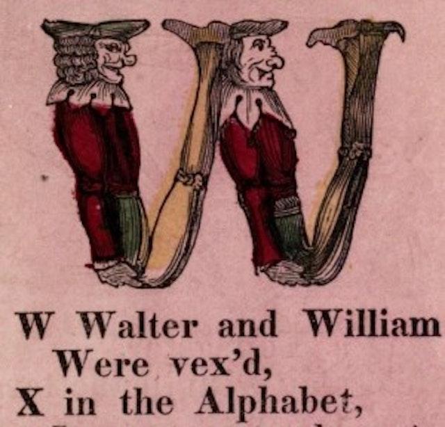 The Funny Alphabet (ca.1850)