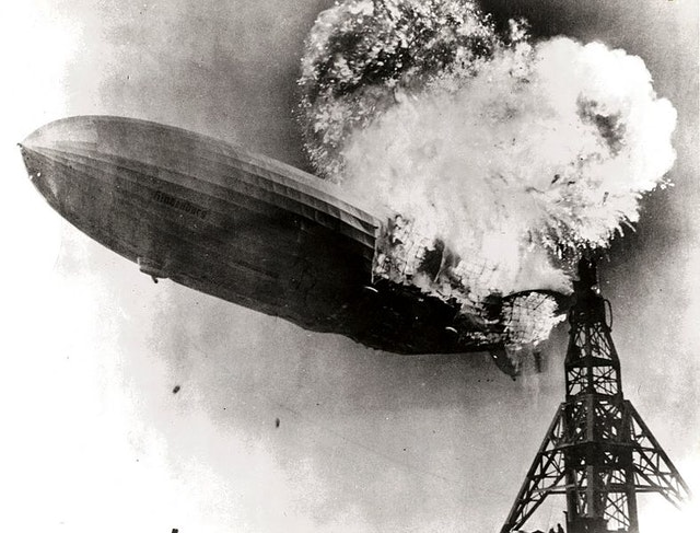 The Hindenburg Explodes (1937)
