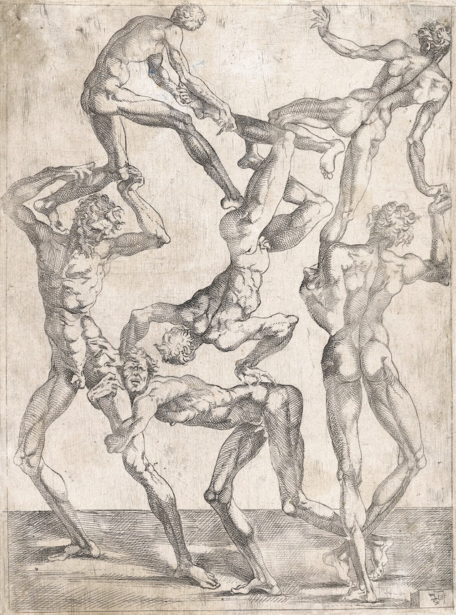 The Human Pyramids of Juste De Juste (ca. 1540)
