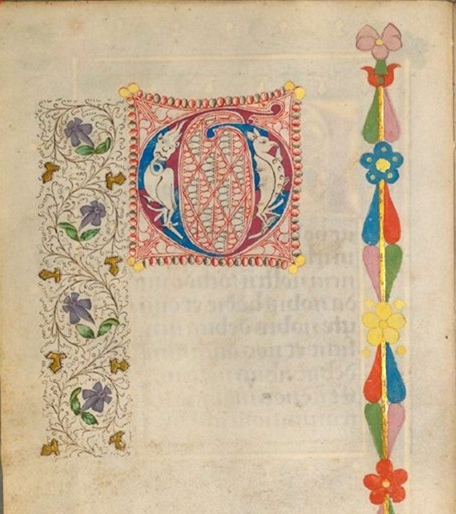 The Illuminated Sketchbook of Stephan Schriber (1494)