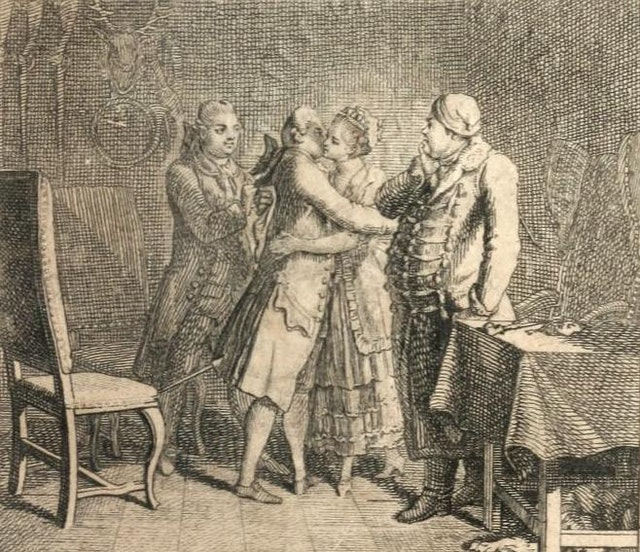 The Joys of Young Werther (1775)