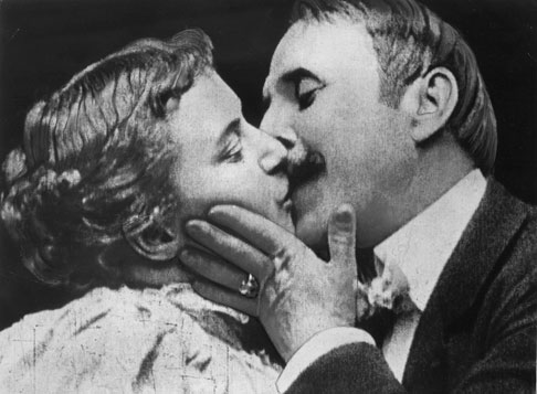 The Kiss (1896) - The Public Domain Review