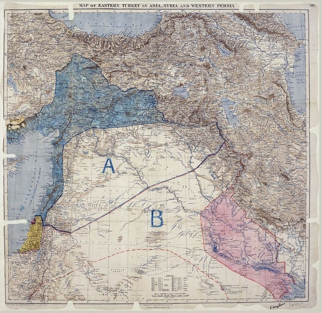 The Map That Changed the Middle East (1916)