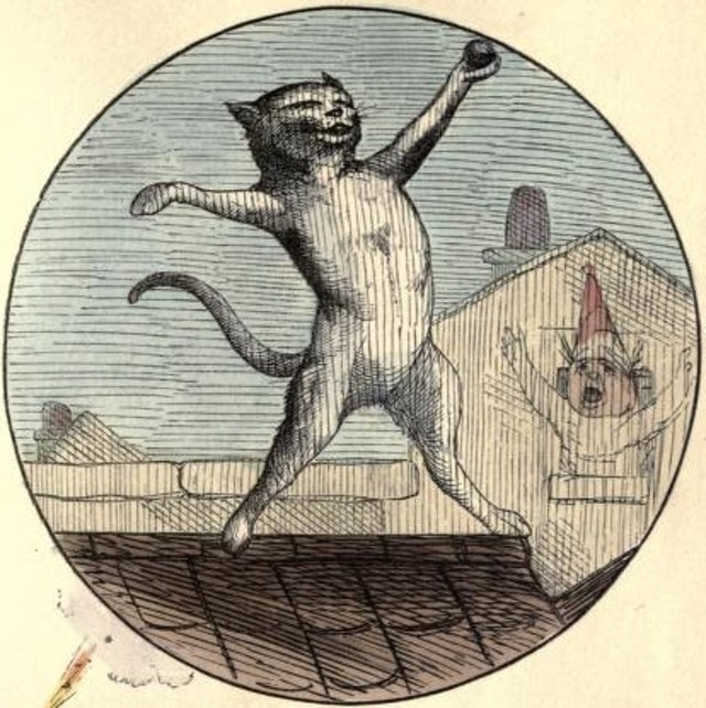 The Nine Lives of a Cat (1860)
