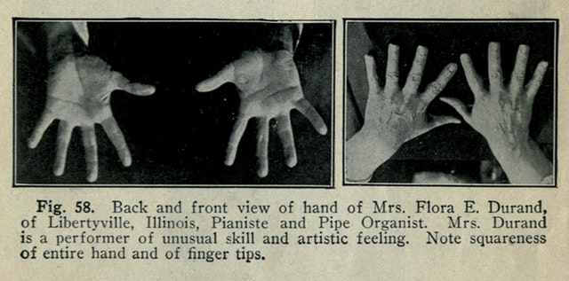 The Physiognomy of Hands (1917)