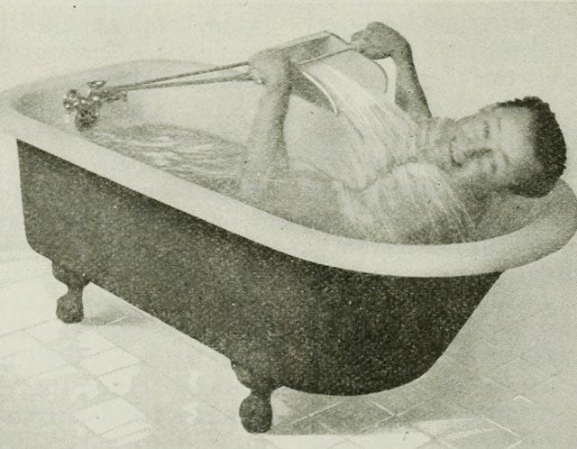 The Rowing-Bath (1916)
