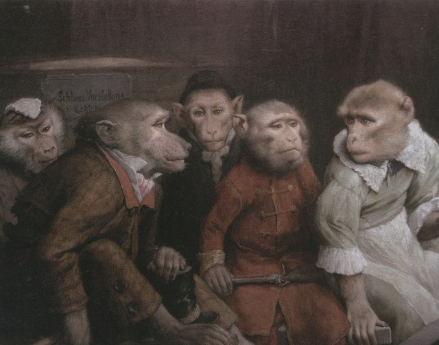 The Singerie: Monkeys acting as Humans in Art