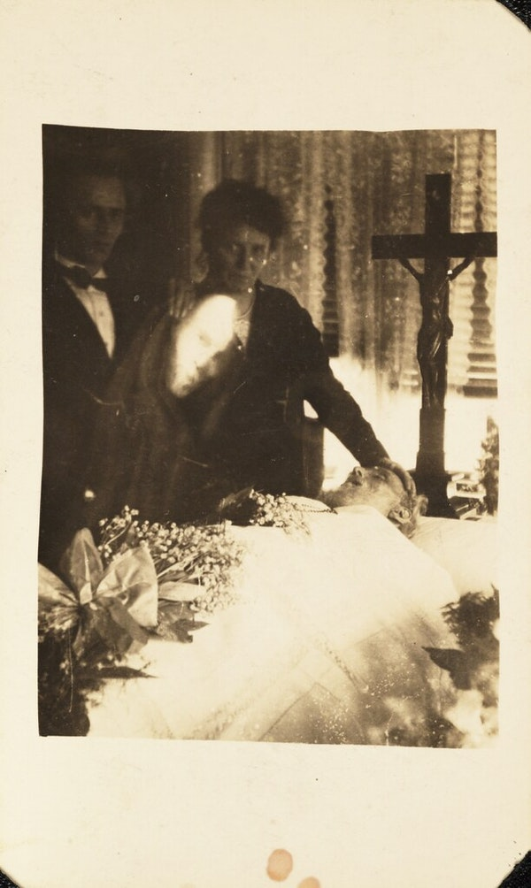 Mourning scene