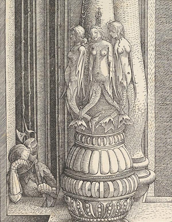 mermaids durer Triumphal Arch