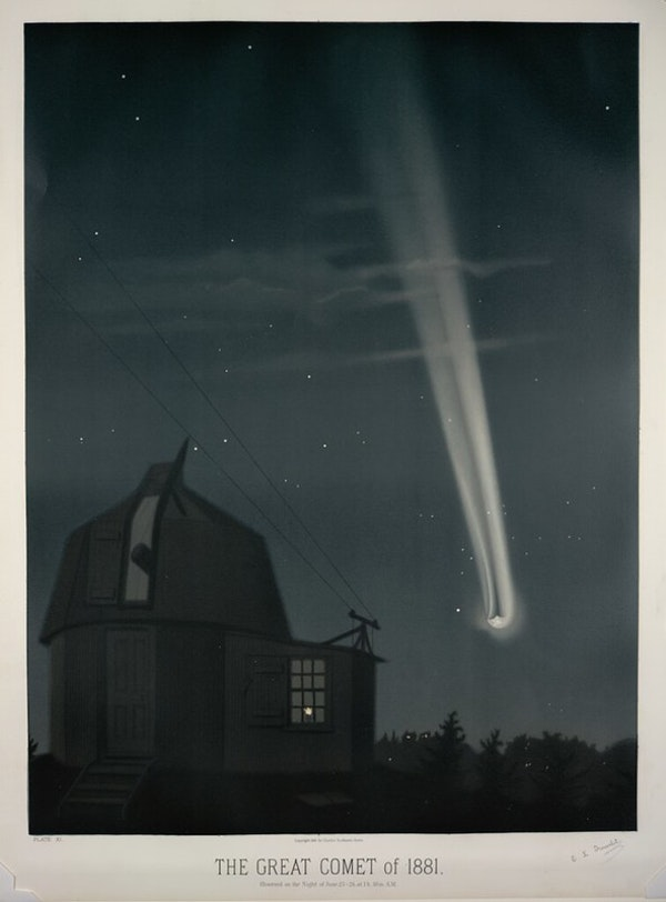 Trouvelot comet of 1881