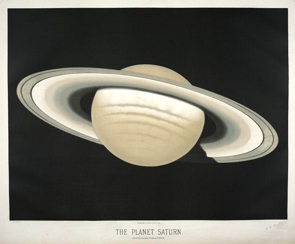 Trouvelot saturn