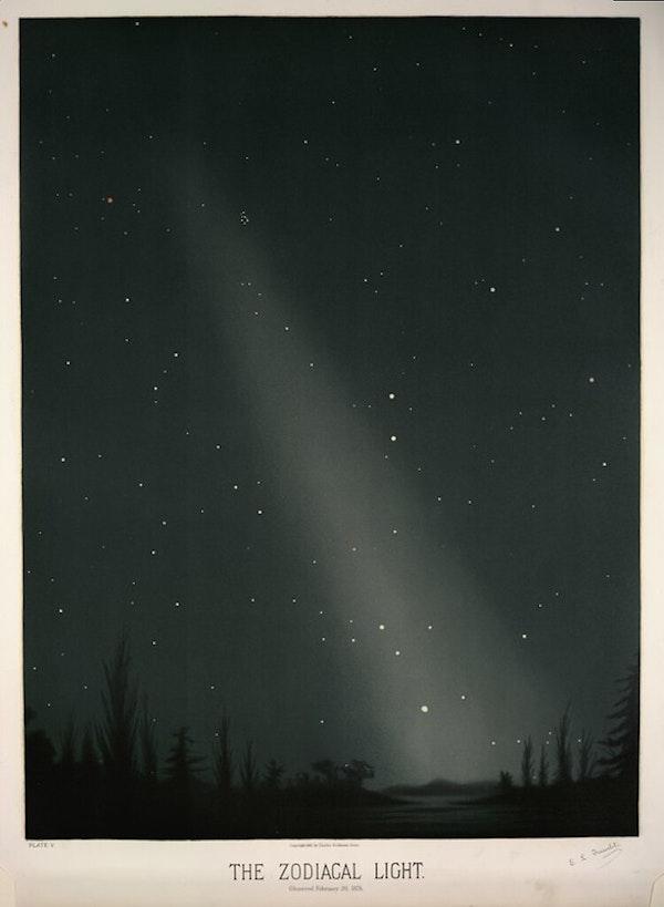 The Zodiacal Light trouvelot