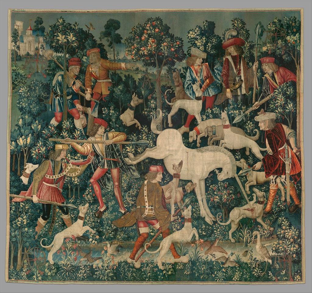 unicorn tapestries