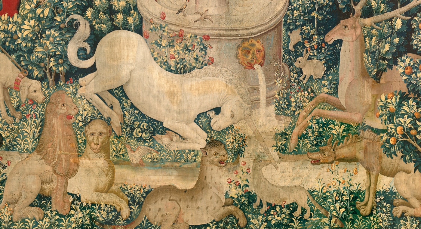 The Unicorn Tapestries 1495 1505 The Public Domain Review