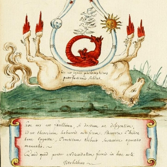 The Vessels of Hermes - an Alchemical Album (ca.1700)