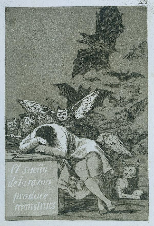 goya The Sleep of Reason Produces Monsters