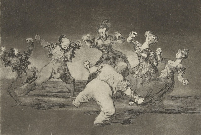 The Whims (1799) and The Follies (1815–23) of Francisco Goya