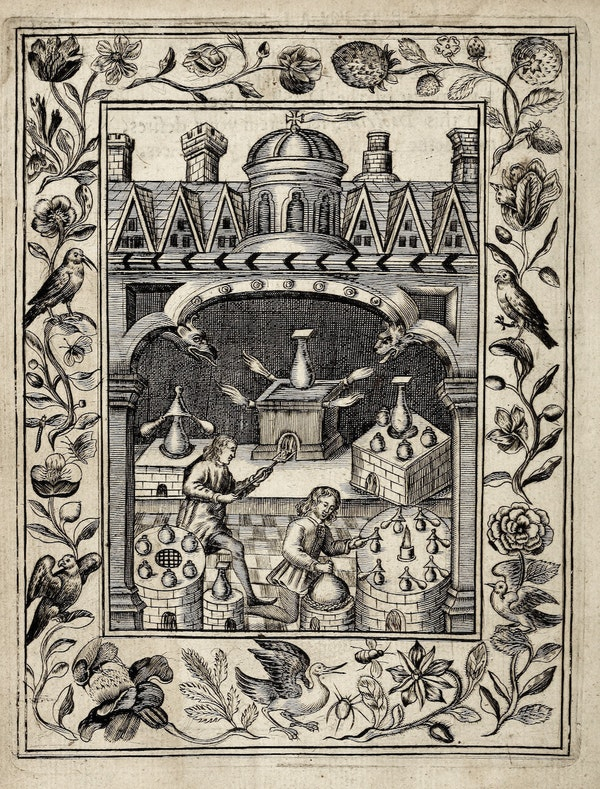 alchemy image from theatrum chemicum