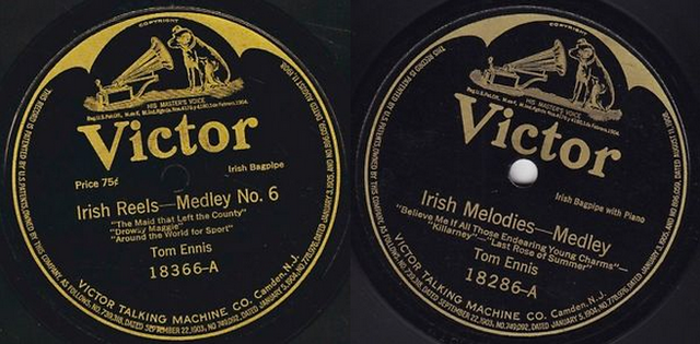 Tom Ennis - Irish Jigs, Reels, and Polkas (1917)