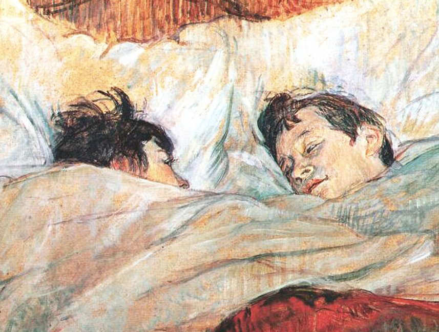 Henri De Toulouse Lautrec S Bed Series An Intimate Look Behind The Scenes At A Paris Brothel 1890s The Public Domain Review