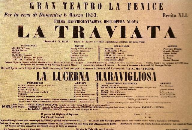 Two songs from Verdi's La Traviata (1910)