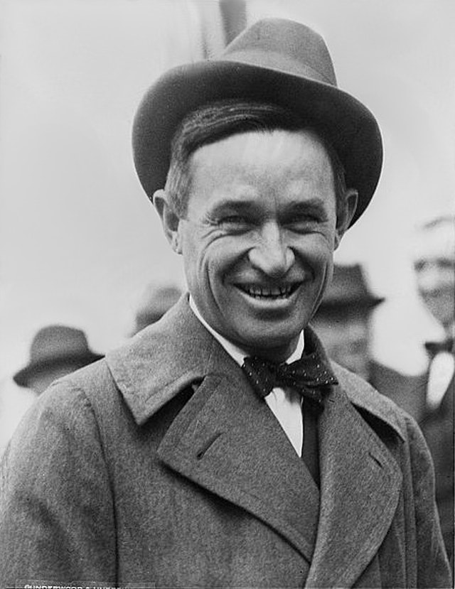 Will Rogers Talks to the Bankers (1924)