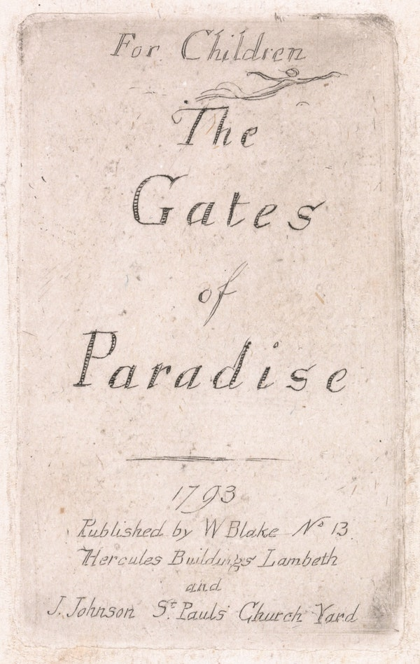 Illustration from *The Gates of Paradise*
