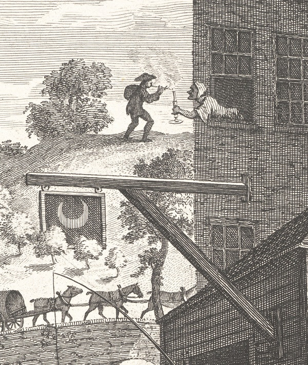 William Hogarth's Satire on False Perspective