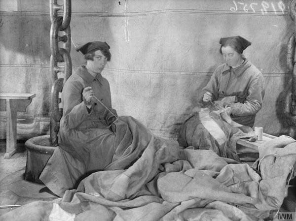 women work world war one
