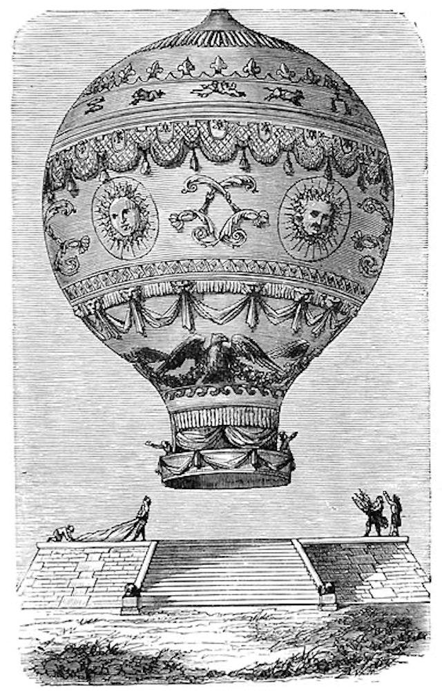 Wonderful Balloon Ascents (1870)