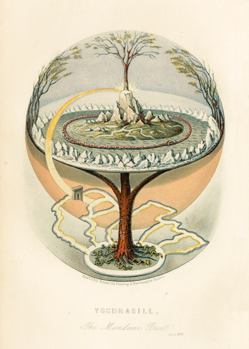Yggdrasil: The Sacred Ash Tree of Norse Mythology – The Public Domain Review