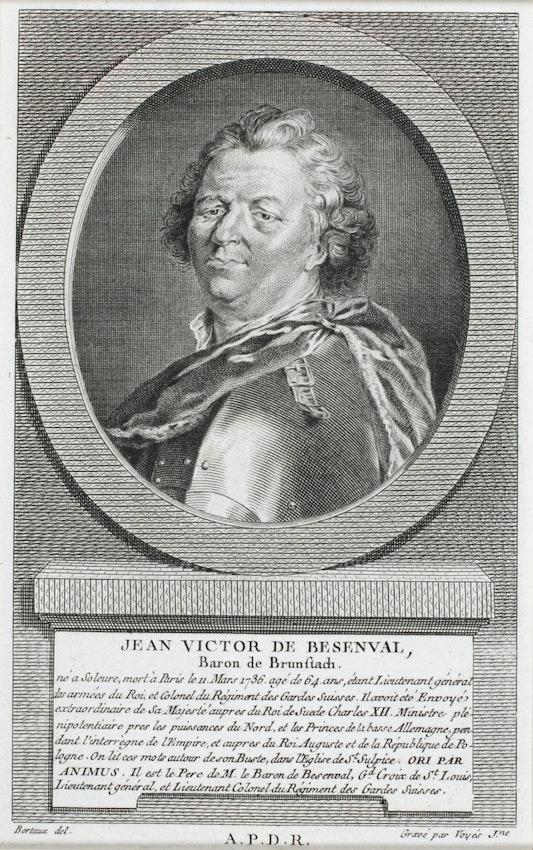 Johann Viktor (Jean Victor) de Besenval, baron of Brunstatt