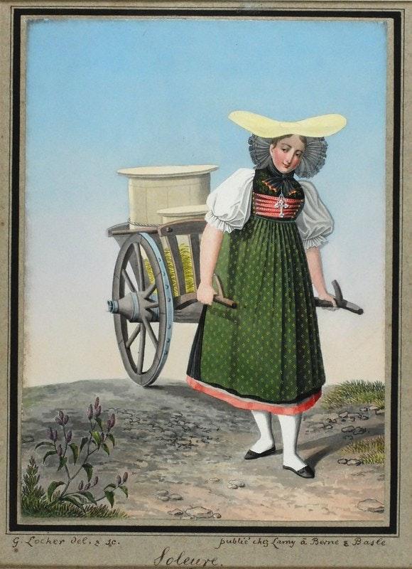 swiss milkmaid