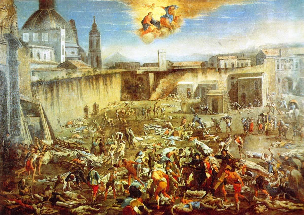 Naples plague 1656