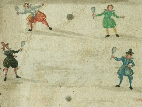 Boys will be Boys: Playing Around in a 17th-Century Friendship Book