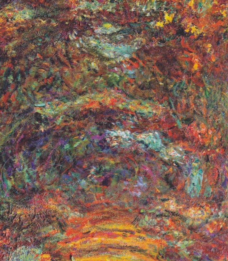 Rose-Way in Giverny monet