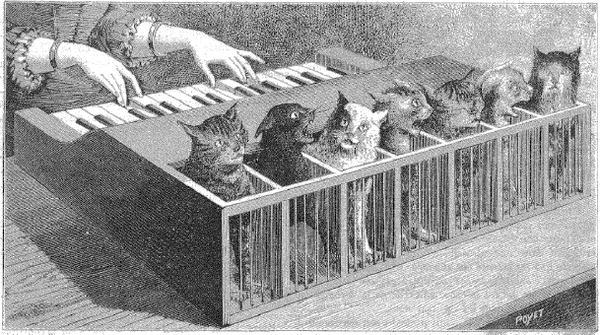 Cat Pianos, Sound-Houses, and Other Imaginary Musical Instruments