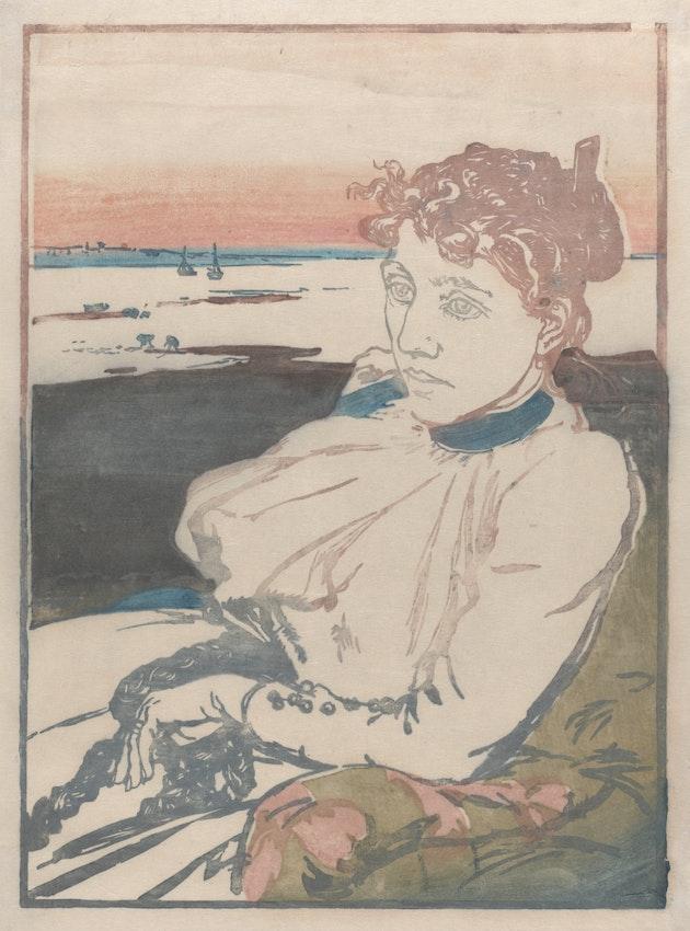 Auguste-Louis Lepère, Convalescent, Madame Lepère