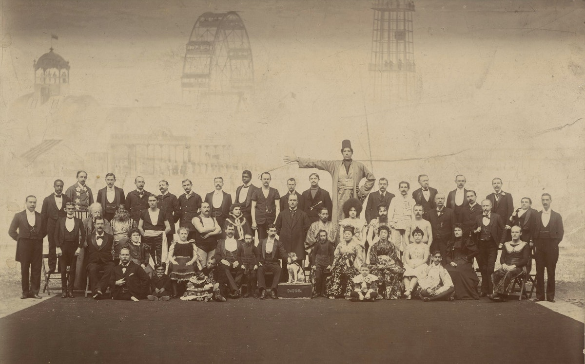 Photograph of Barnum and Bailey show