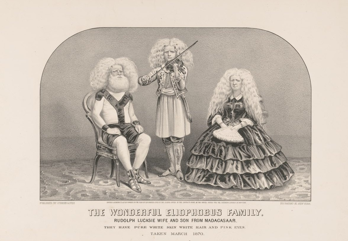 The Eliophobus family: Rudolph Lucasie wife and son from Madagasaar