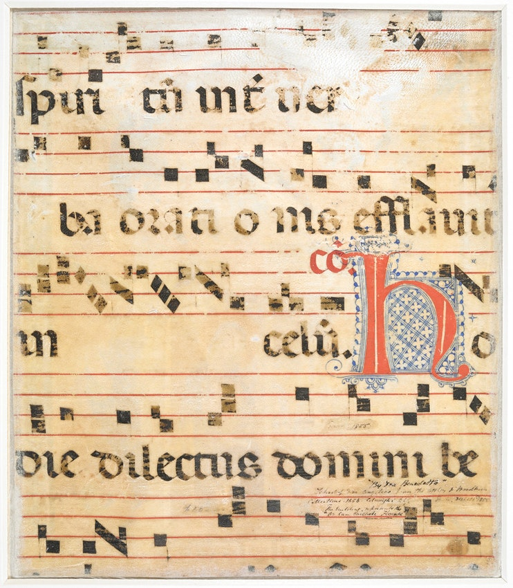 Add MS 35254, Medieval Italian Choirbook, British Library.