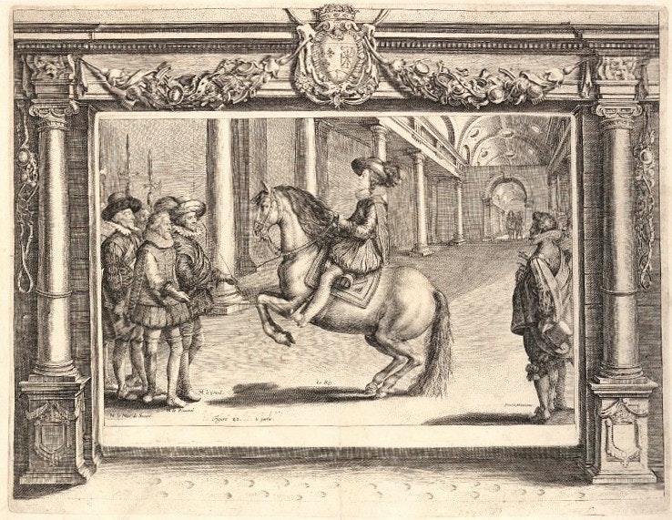 pluvinel horse