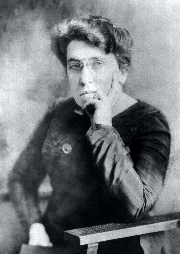 "Emma Goldman's ""Anarchism Without Adjectives"""