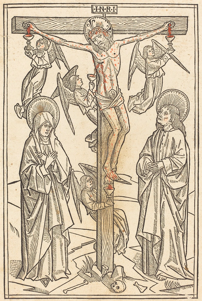 Christ on the Cross with Angels