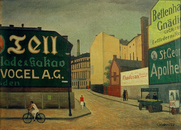 Gustav Wunderwald's Paintings of Weimar Berlin