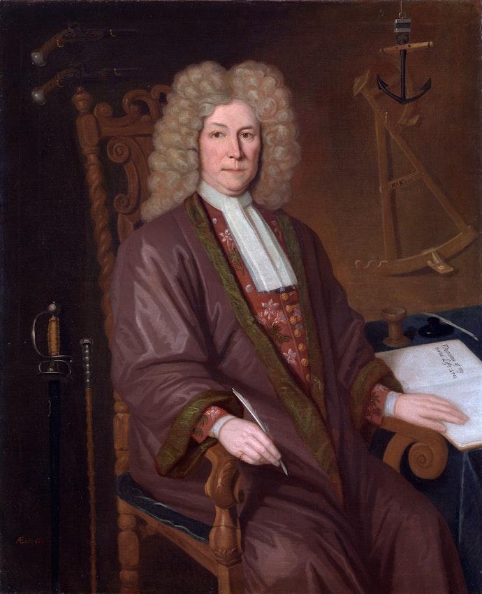 Retrato de un viejo Robert Knox