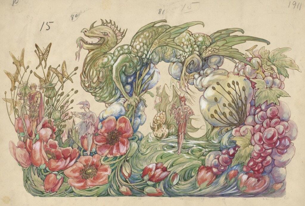 mardi gras illustrations designs