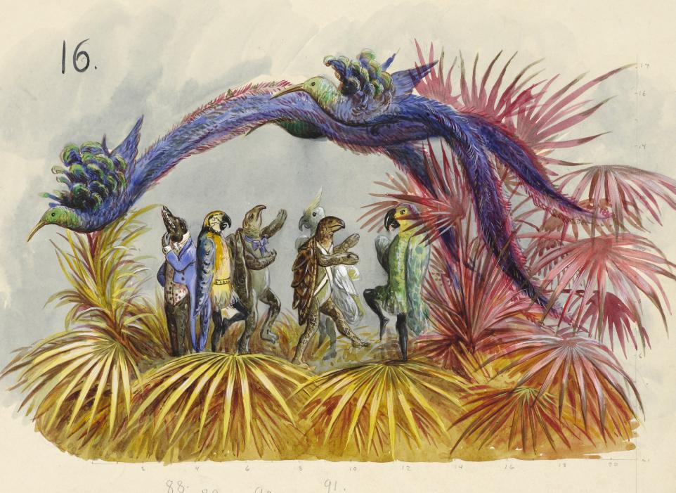 mardi gras illustrations