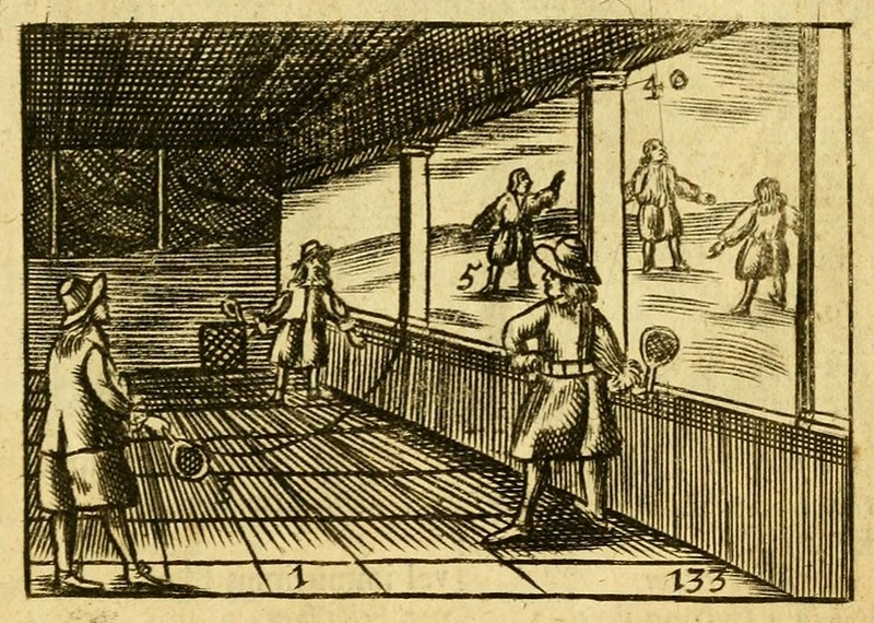 17th century tennis
