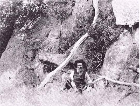 John Muir in nature